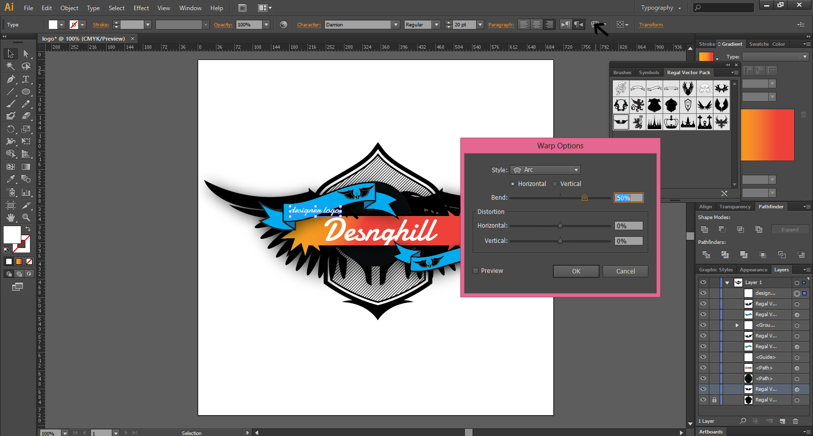 Create Logo Design In Illustrator