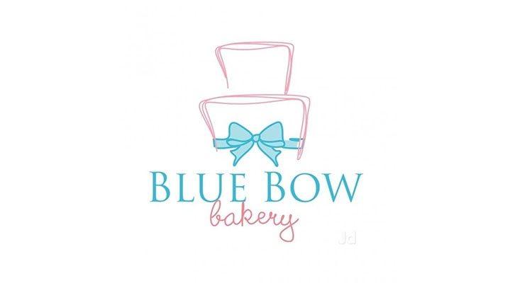 Blue Bow Bakery Logo