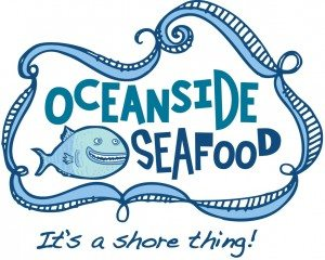 oceanside restaurant logo design