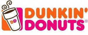 dunkin donuts restaurant logo design