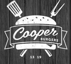 cooper burgers - Logos for Restaurants and Burger spots