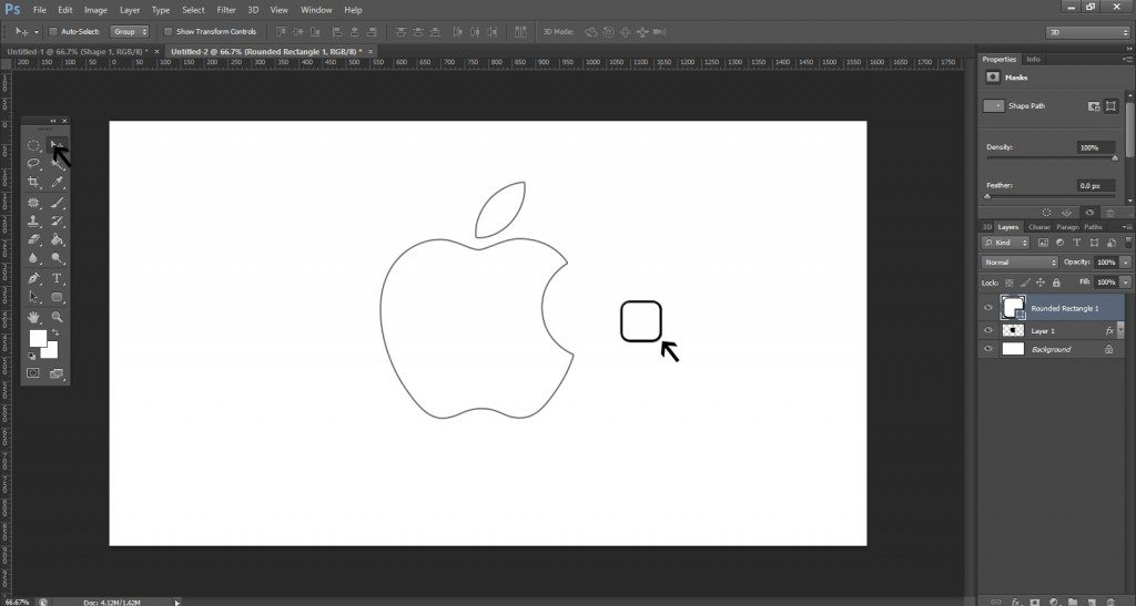 Step- 5 (Create Apple Logo In Photoshop)