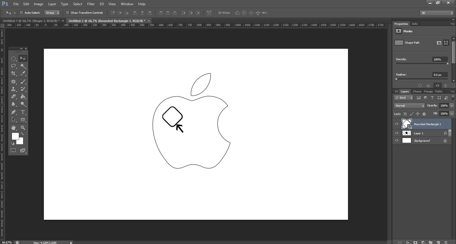 Creating logo in photoshop