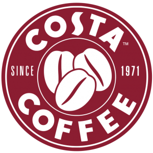 costa coffee restaurant logo design