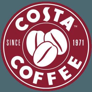 costa coffee restaurant logo design