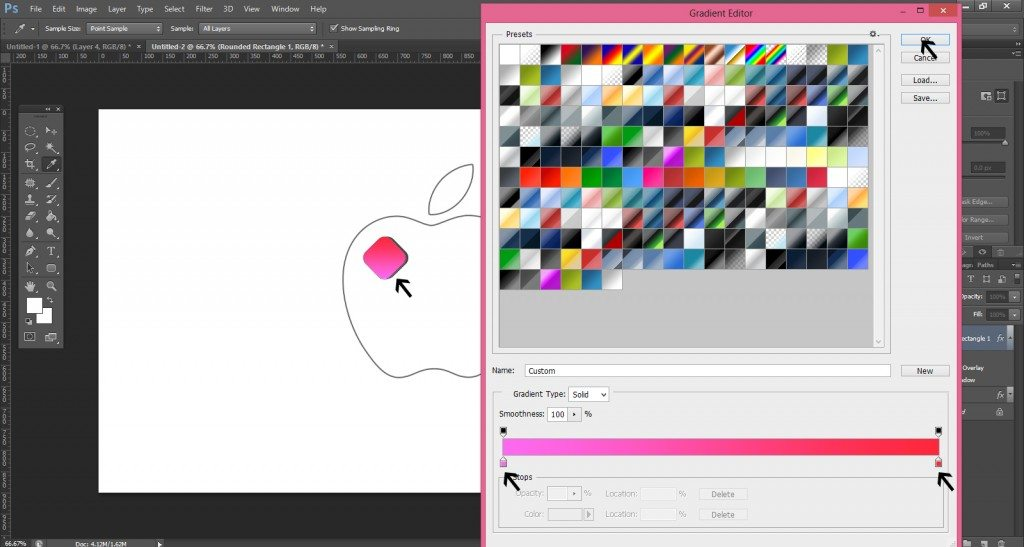 Step- 7 (Step to Create Apple Logo In Photoshop)
