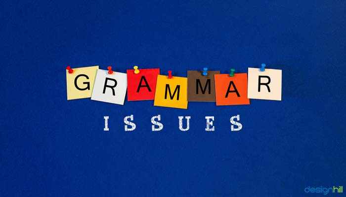 Grammar Issues