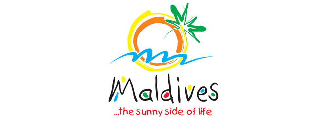 Maldives travel logo