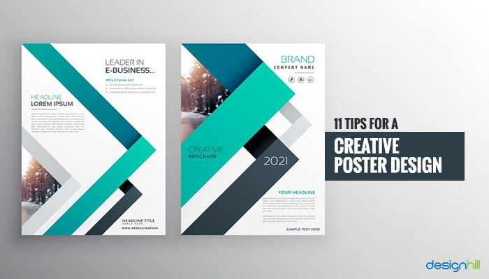 11 Tips For A Creative Poster Design