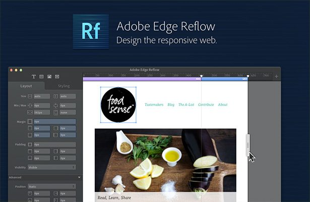 Adobe Edge Reflow Easy Tools