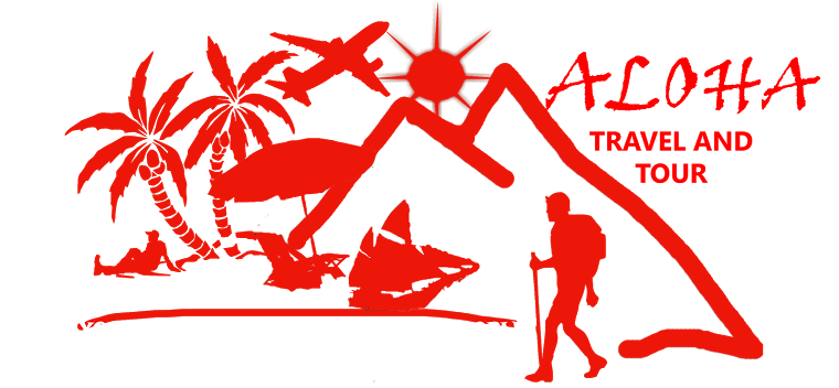 Aloha travel logo design