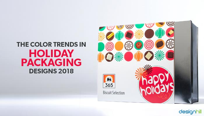 the color trends in holiday packaging designs 2018
