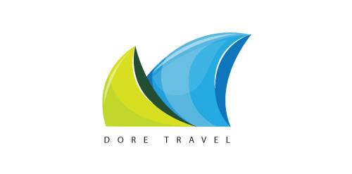 Dore Travel logos