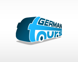 German Tour and travel logo