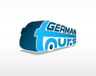 German Tour and travel logo