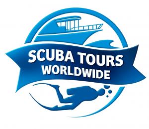 Scuba Tour and travel logo design