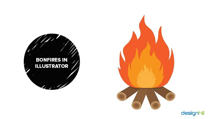 Bonfires In Illustrator