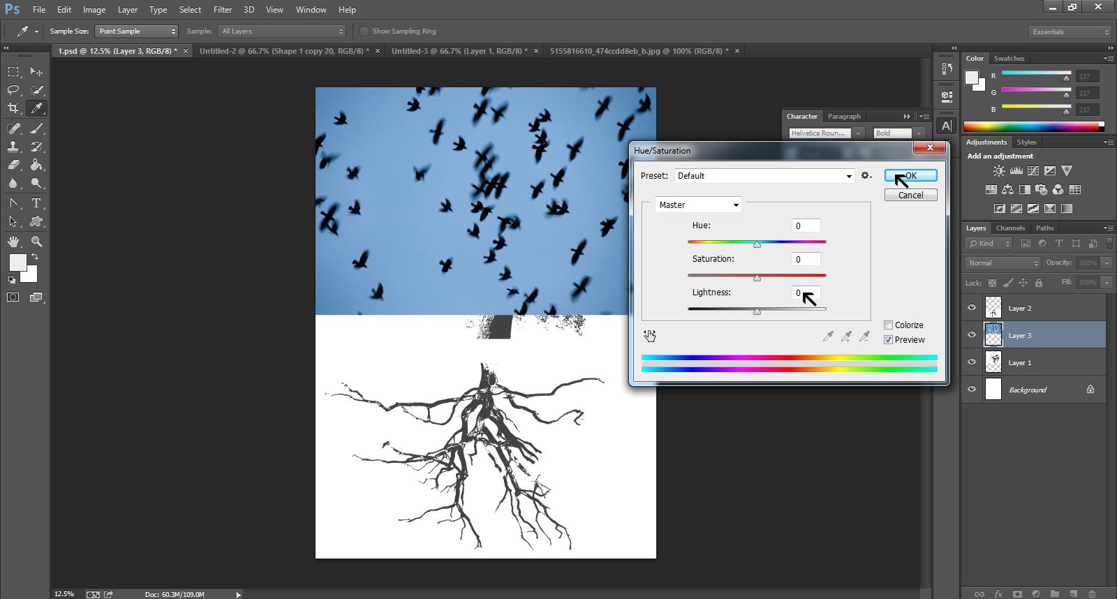 Poster design software - Gig Poster Design Step 16
