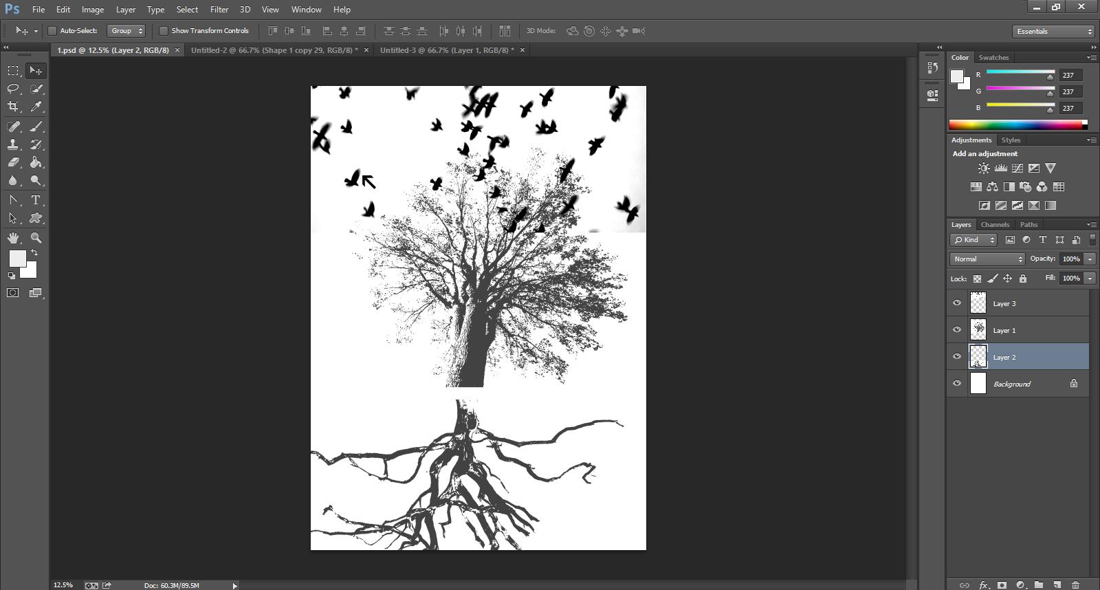 Gig Poster Design Step-21