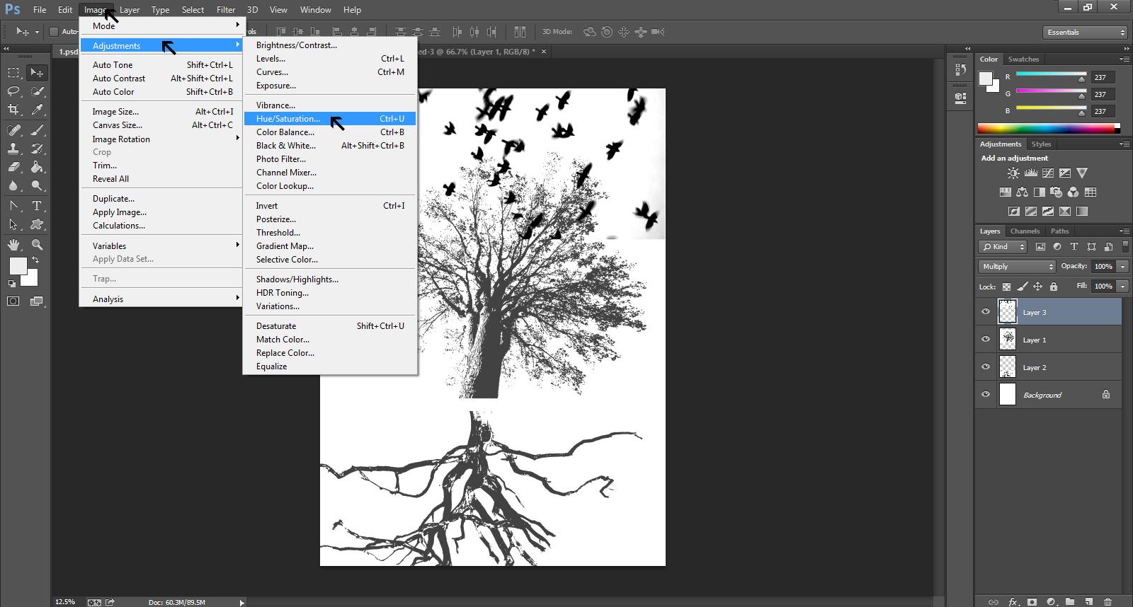 Poster design software - Gig Poster Design Step 22