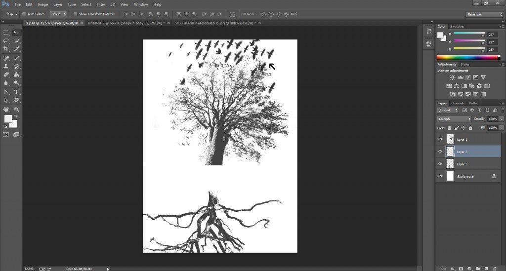 Gig Poster Design Step-24