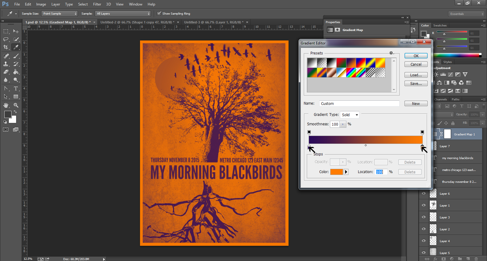 Poster design software free download - Gig Poster Design