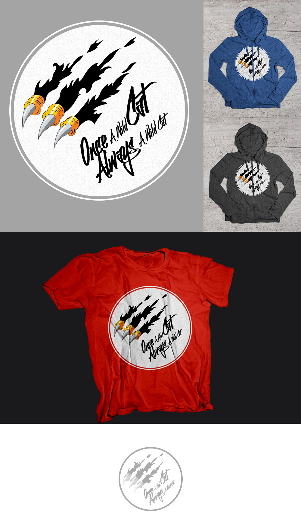 Winning T-shirt Design by Rocky Recherche