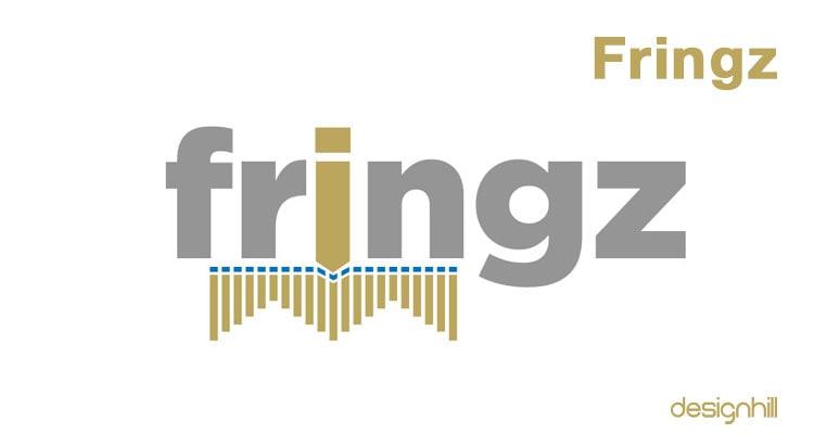Fringz logo design