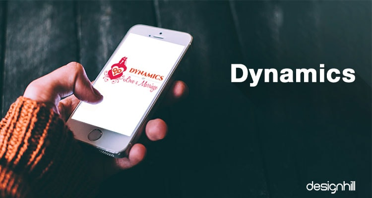 Dynamics logo design