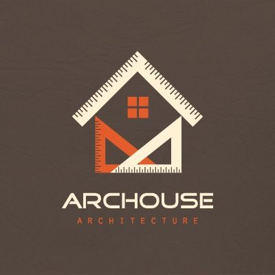 Top 10 logo designs for architectural business for for House construction companies