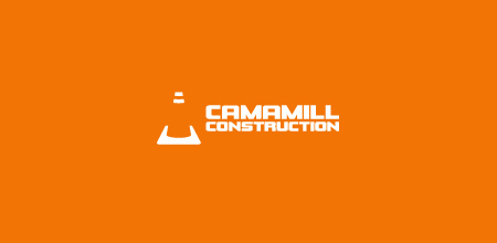 camamill construction logo design - Company Logo Design Ideas