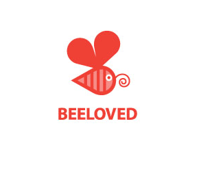 Beeloved Love Logo