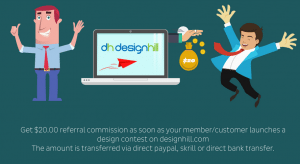 Designhill Referral Program