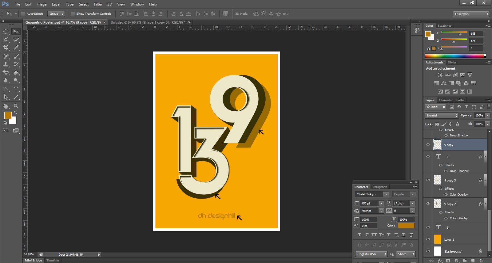 Geometric Poster Design