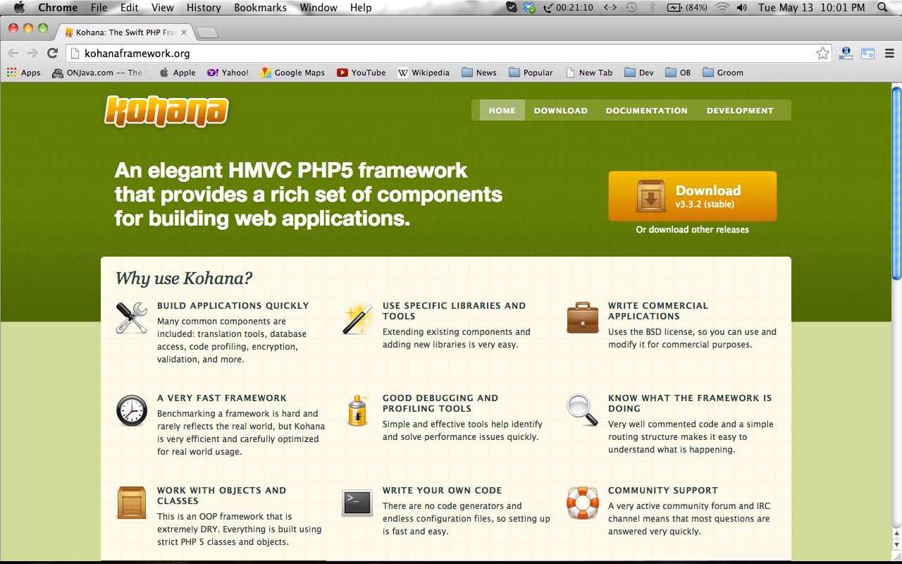 HTML5 Frameworks