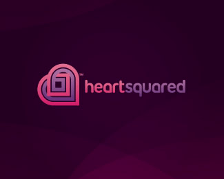 Heartsquared Dating & Love Logo