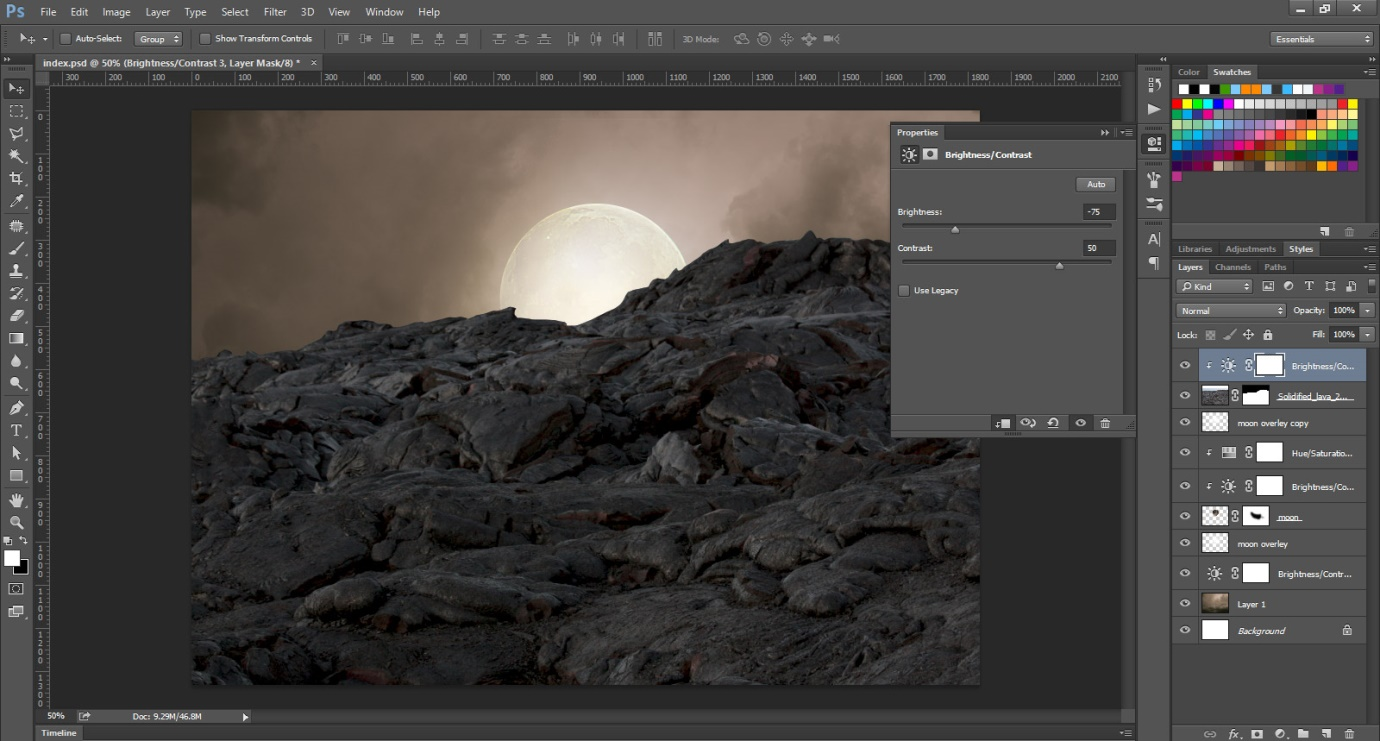 How to Create an Incredible Manipulation of a Photograph through Photoshop 1