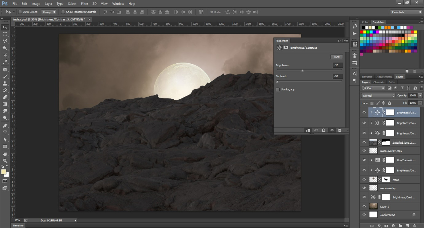 How to Create an Incredible Manipulation of a Photograph through Photoshop 3