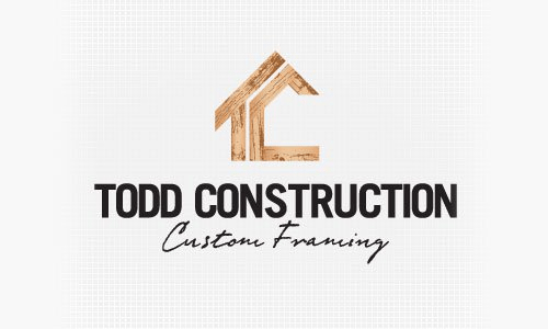 Company Logo Design Ideas cool creative photography logo design ideas for designers Todd Construction Logo Design