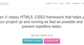 Top 5 Impressive HTML5 Frameworks for Web Designers