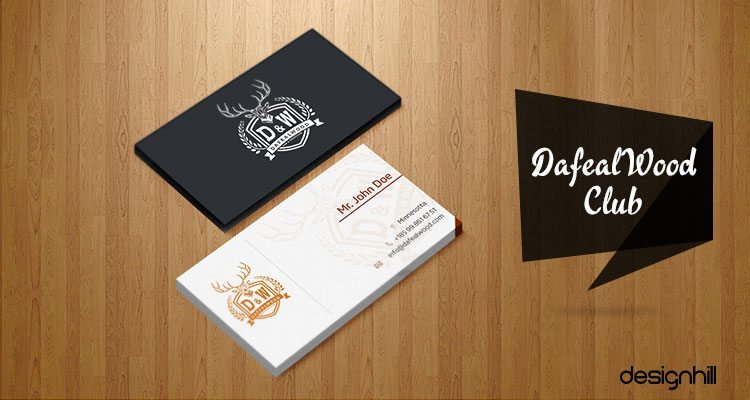 For More Such Inspirational Business Card Designs, You Can Explore  Designhill.  Club Card Design