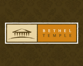 Bethel Temple Religious Themed Logo Designs