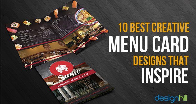 Menu Card Design For Cafe