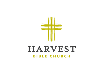 Harvest Bible Church Religious Themed Logo Designs