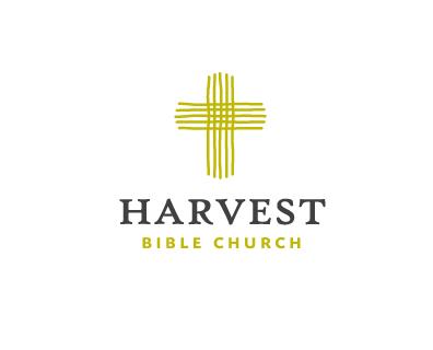 Harvest Bible Church Religious Themed Logo Designs