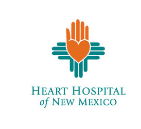 Heart hospital - medical and pharmaceutical logos