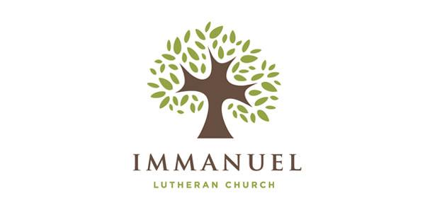 Immanuel Luthern Church Logo Designs