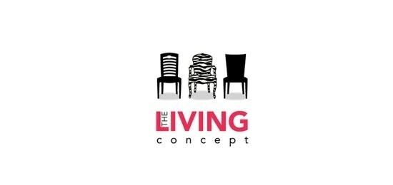Living Concept Home and Furnishing logo Designs