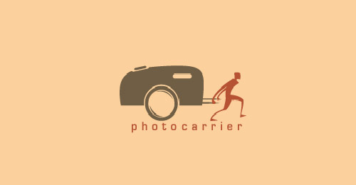 Photo Carrier Photography Themed Logo Designs