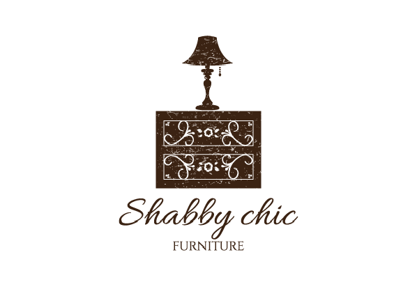 Shabby Chic Furniture Home and Furnishing logo Designs